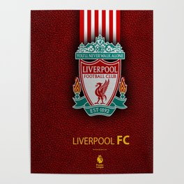 Fc Liverpool My Favorite Sport Team Poster