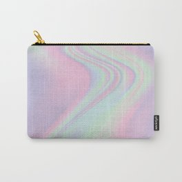 Iridescent Happy Place Carry-All Pouch