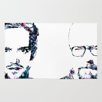jesse pinkman Area & Throw Rugs featuring Jesse Pinkman by NKlein Design