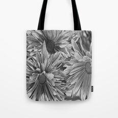 Flowers shadows Tote Bag