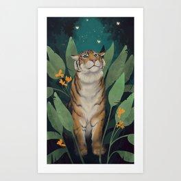 Tiger Grove Art Print
