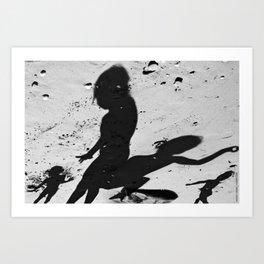 Shadows_F Art Print