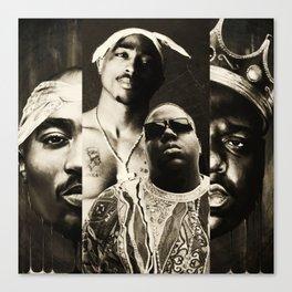 Biggie&Tupac Mix Canvas Print