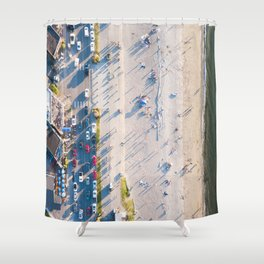 Alki Beach Shower Curtain