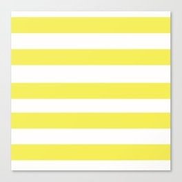 Yellow What Canvas Print