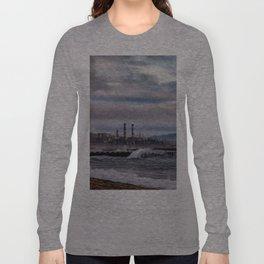 Crashing Beach Long Sleeve T-shirt