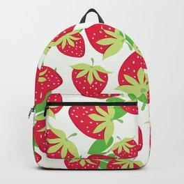 Sweet strawberries pattern Backpack