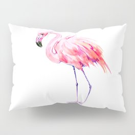 Flamingo pink flamingo design decor flamingo lover artwork Pillow Sham