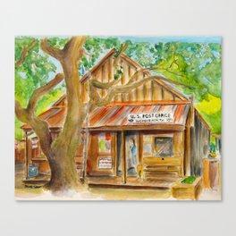 Luckenbach, Texas Canvas Print