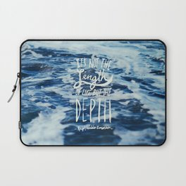 Depth x Ocean Laptop Sleeve