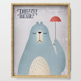 Drizzly Bear Serving Tray
