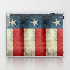 Texas state flag, Vintage banner version Laptop & iPad Skin