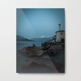 Night on the Lake Metal Print