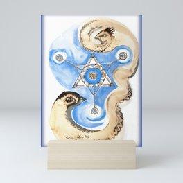 SCOUT SHIP Mini Art Print