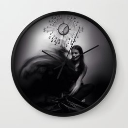 """""""ascension of a spirit"""" Wall Clock"""