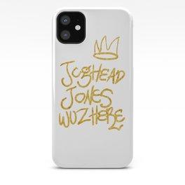 Jughead Jones was here iPhone Case