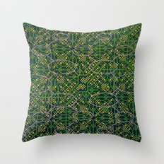 Multi-Defect System 2 Throw Pillow