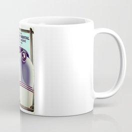 Transcontinental railroad travel poster Coffee Mug