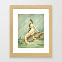 I Have Heard the Mermaids Singing Framed Art Print