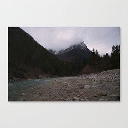 Koritnica River Canvas Print