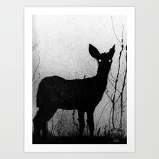 Whitetail - Fawn Art Print