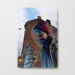 Glasgow Scotland Saint Mungo Street Art Terrace Art Print Metal Print