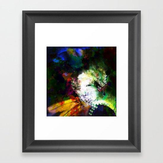 In Waiting Framed Art Print