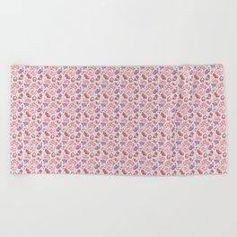 Piggy Pattern Beach Towel
