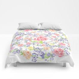 Bouquet of flowers - Marigold - BLUE Comforters