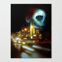 City sleeps Canvas Print