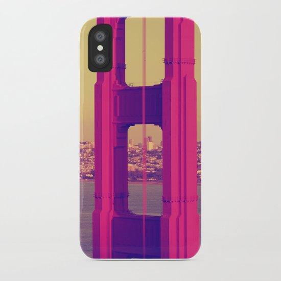 Golden Gate Into San Francisco iPhone Case