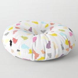 Cat Pattern Floor Pillow