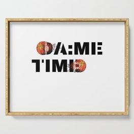 Dame Time Basketball All Star Meme Serving Tray