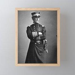 Admiral Farragut - Civil War - 1863 Framed Mini Art Print