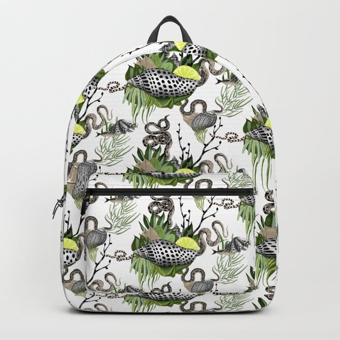 shells and snakes Backpack