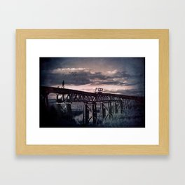 The Travellers Framed Art Print