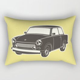 Retro Trabant - Nostalgia Rectangular Pillow