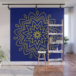 Symmetric composition 47 Wall Mural