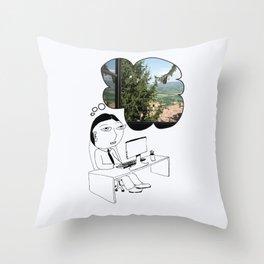 Pod Daze - Ah, Italia! Throw Pillow