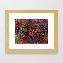 Imagined State of Congealing Anguish Framed Art Print