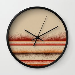 Earth - Panel 3 - Letterman Series - Triptych Wall Clock