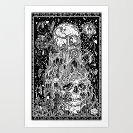 The Invisible College Art Print