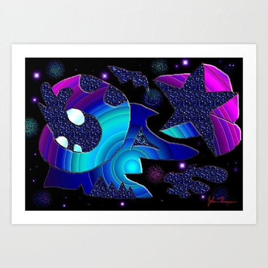 Wacky Universe Art Print