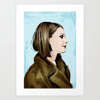 tenenbaum Art Prints featuring Margot Tenenbaum by The Art Warriors