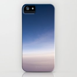 silent morning above Java iPhone Case