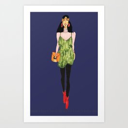 Fashion Drawing Series 4, Pinales Illustrated Art Print