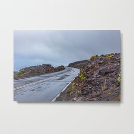 The Endless Road Metal Print