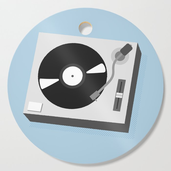Turntable Illustration Cutting Board