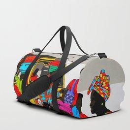 african market 1 Duffle Bag