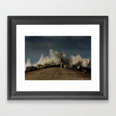 Dark Swell Framed Art Print